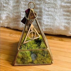 Harry Potter Authentic Deathly Hallows Keychain!⚡️